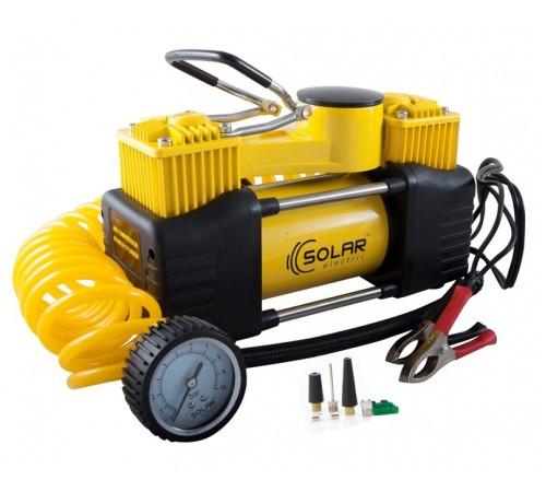 Автомобильный компрессор Solar AR208 двухпоршневой