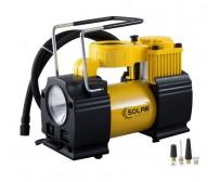 Автомобильный компрессор Solar AR210 с LED фонарем