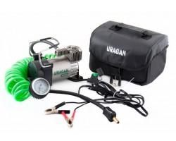 Автомобильный компрессор Uragan 90140 зажимы АКБ